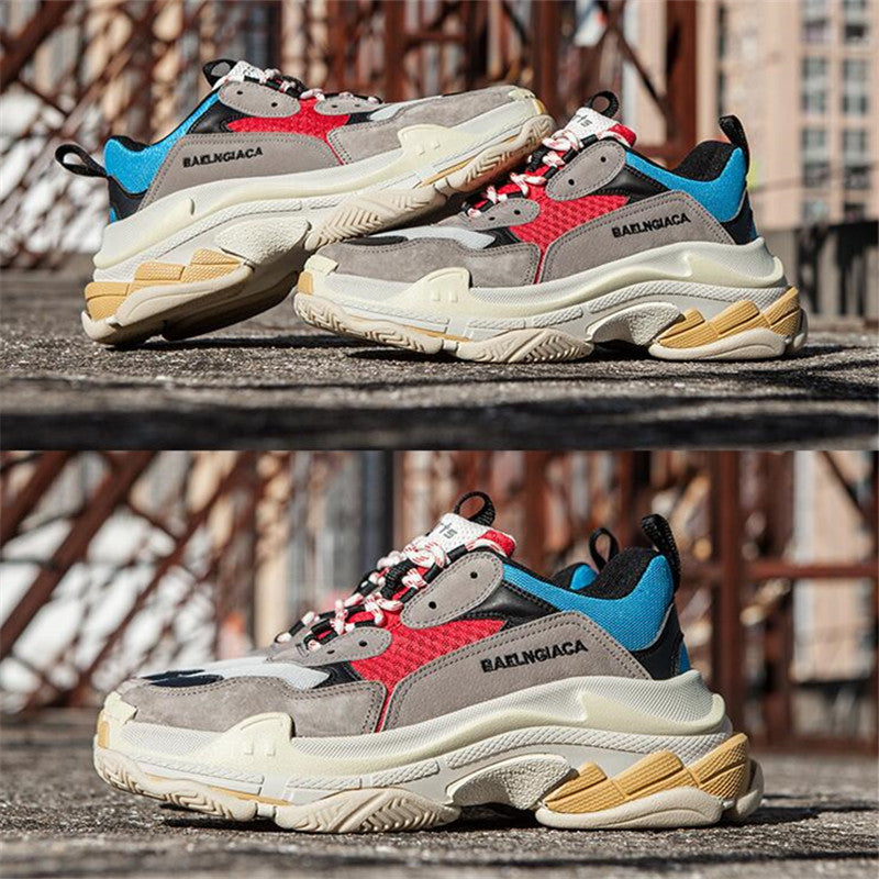 Oversized Triple S Sneakers