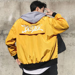 Street Printing Windbreaker Hooded Jacket