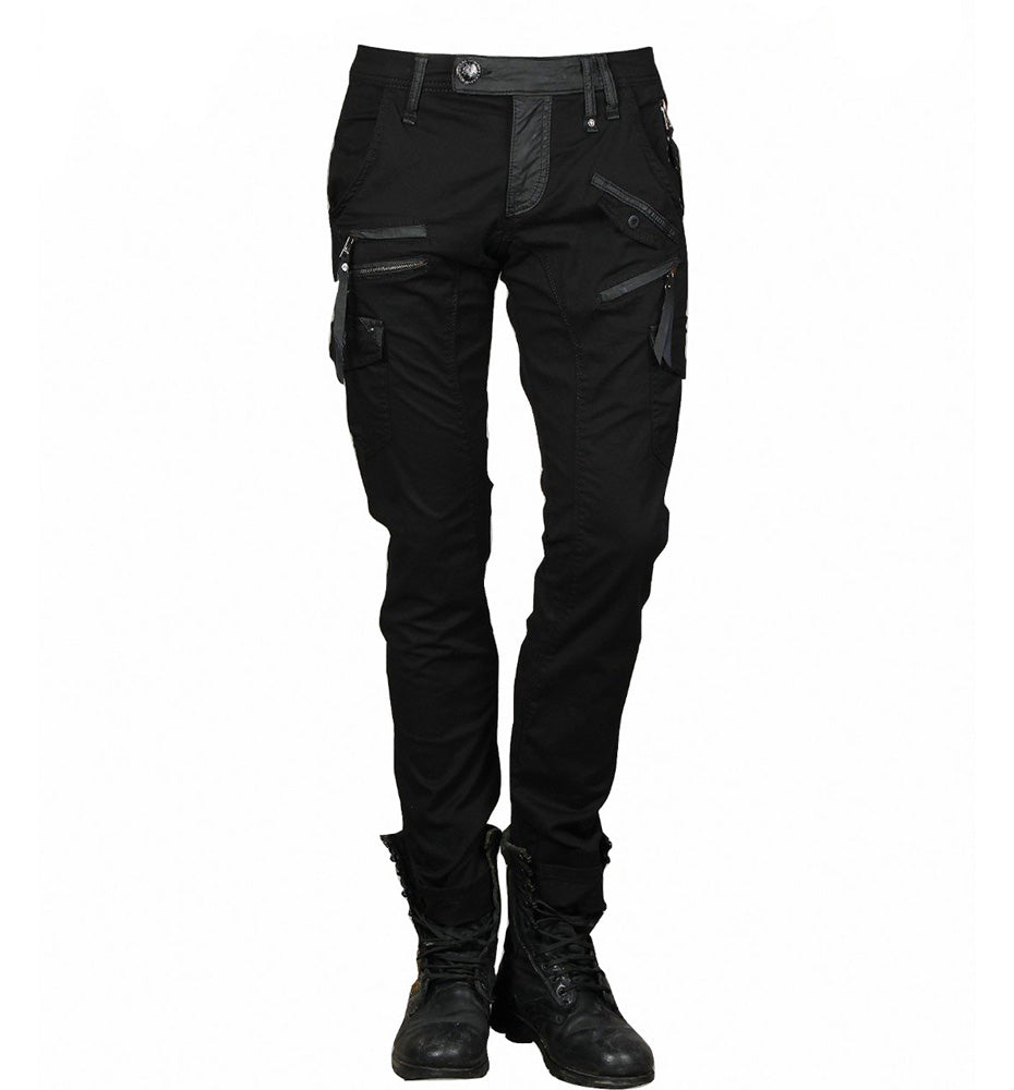 Men's Zip-back Cargo Jeans