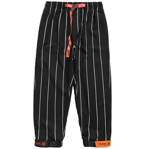 Original Design Striped Harem Pants
