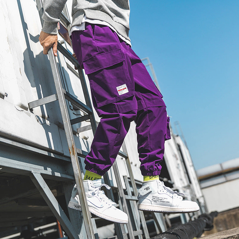 Pockets Streetwear Cargo Pants