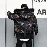 Camo Hooded Parka
