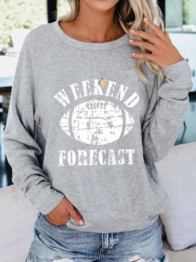 Weekend Forecast Pullover