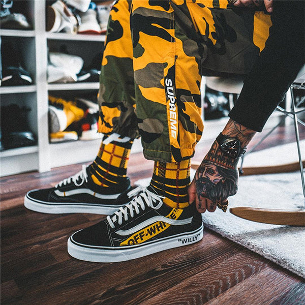 Palace Plaid Socks