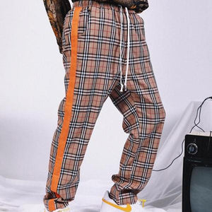 Plaid Stripe Pants