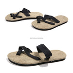 Men's Linen Slippers