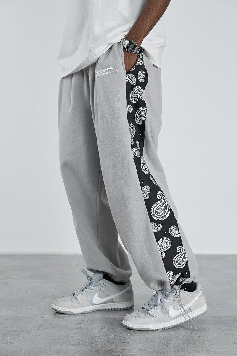 H/C Logo Cashew Loose Sweatpants