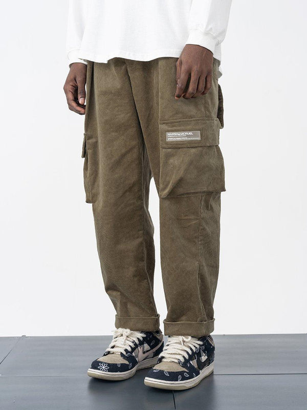 H/C Corduroy Tapered Trousers