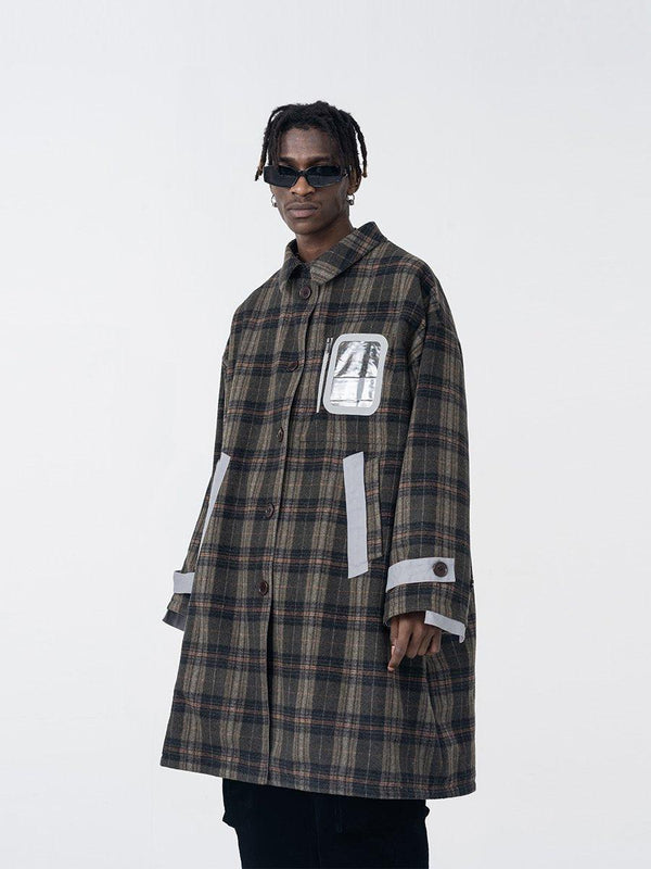H/C Reversible Woolen Overcoat