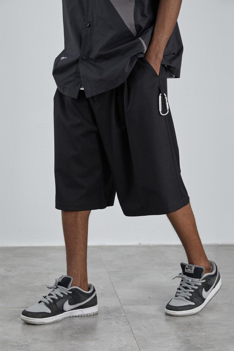 H/C Pleated Suit Shorts