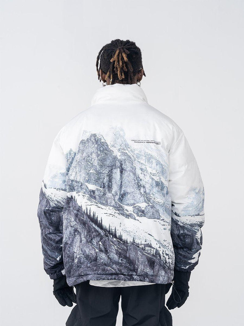 H/C Snow Mountain Down Jacket
