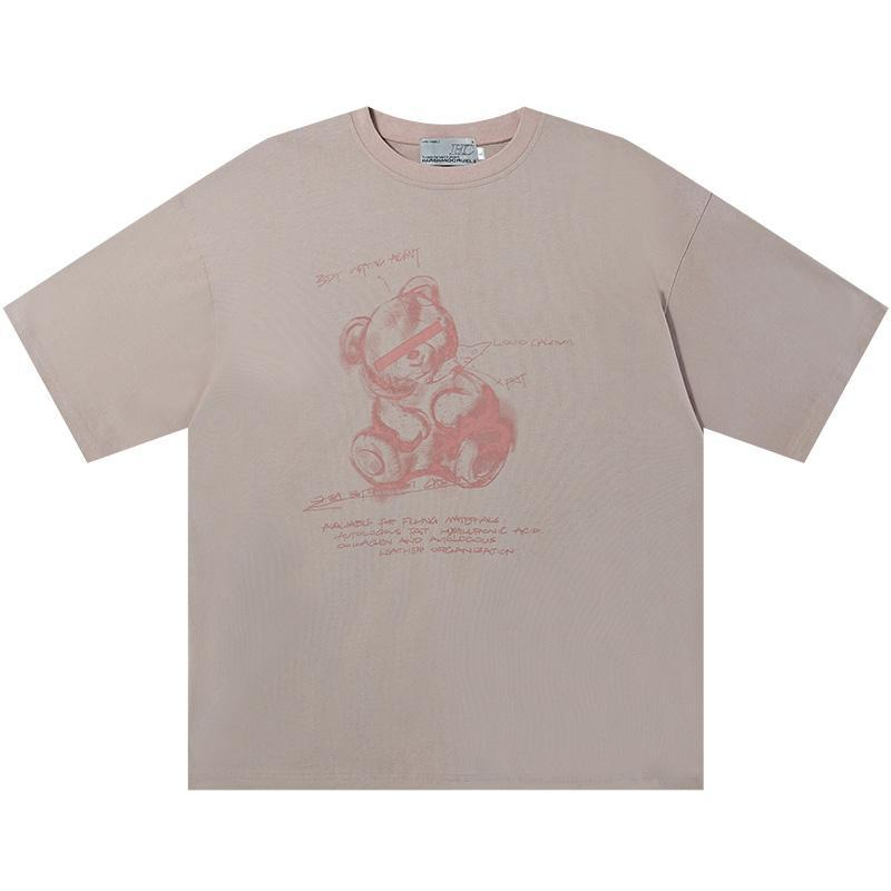 H/C Painted Bear Tee