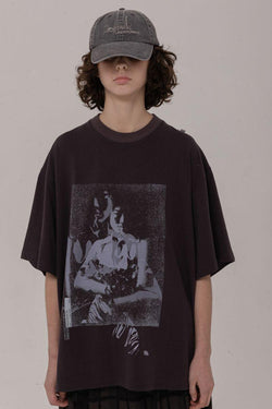 BLIND Retro Synthetic Loose Tee