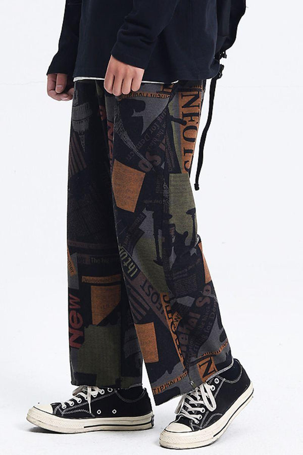 CZ Retro News Trousers