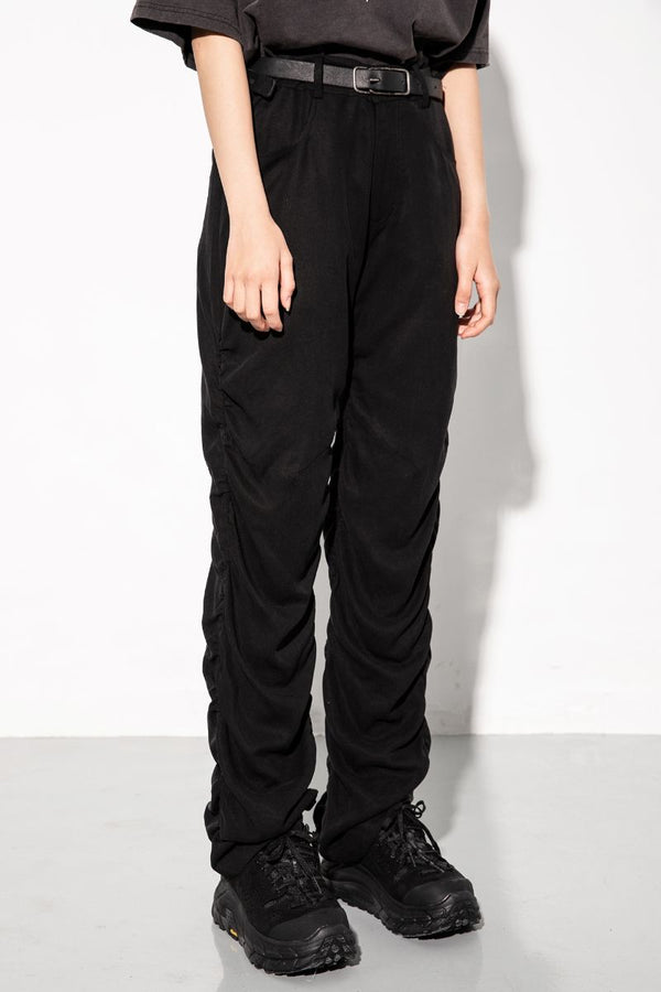 Unknown World Wrinkled Pleated Trousers
