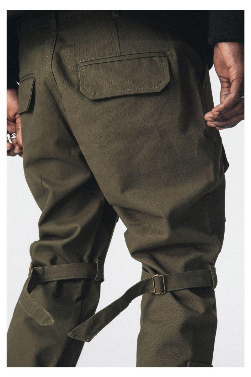 Antidote Multi Pocket Straps Trousers