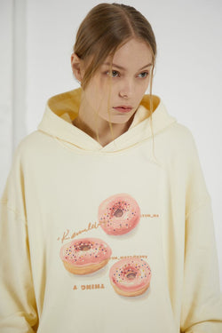 THINGY Donut Oil Painting Hoodie