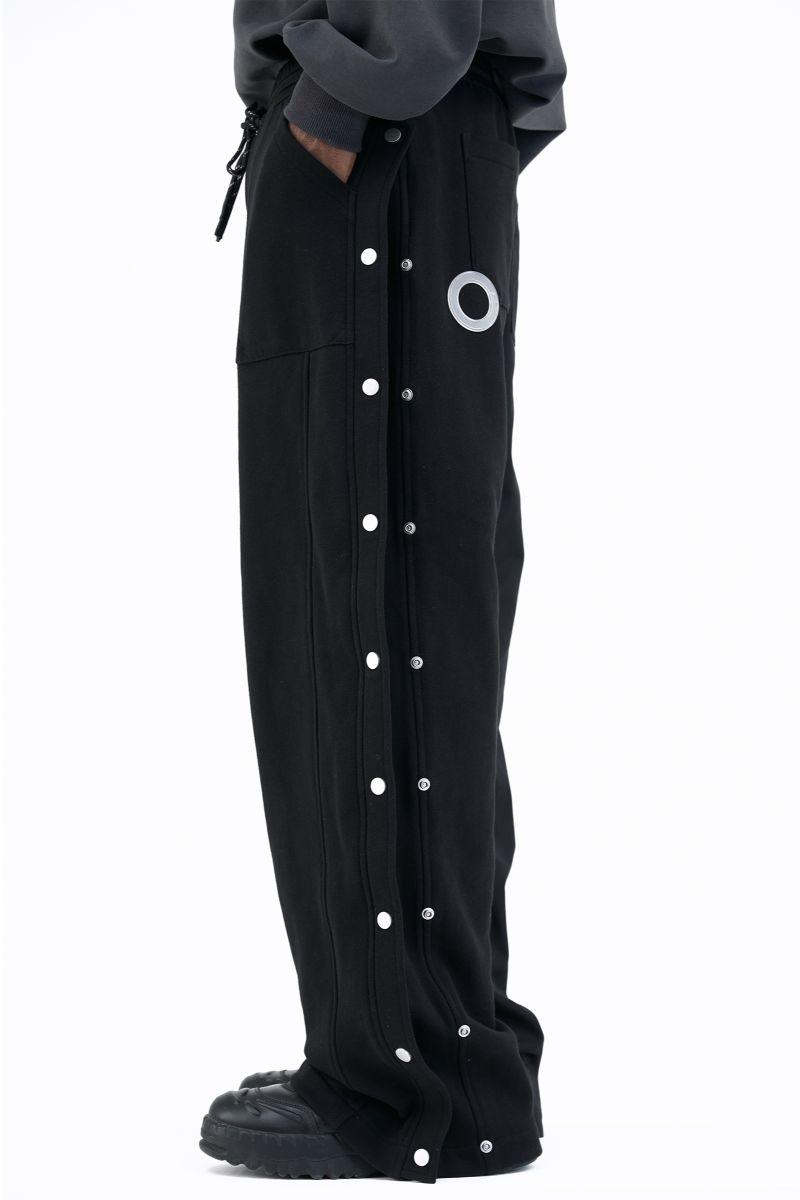 BLIND Straight Button Down Trousers