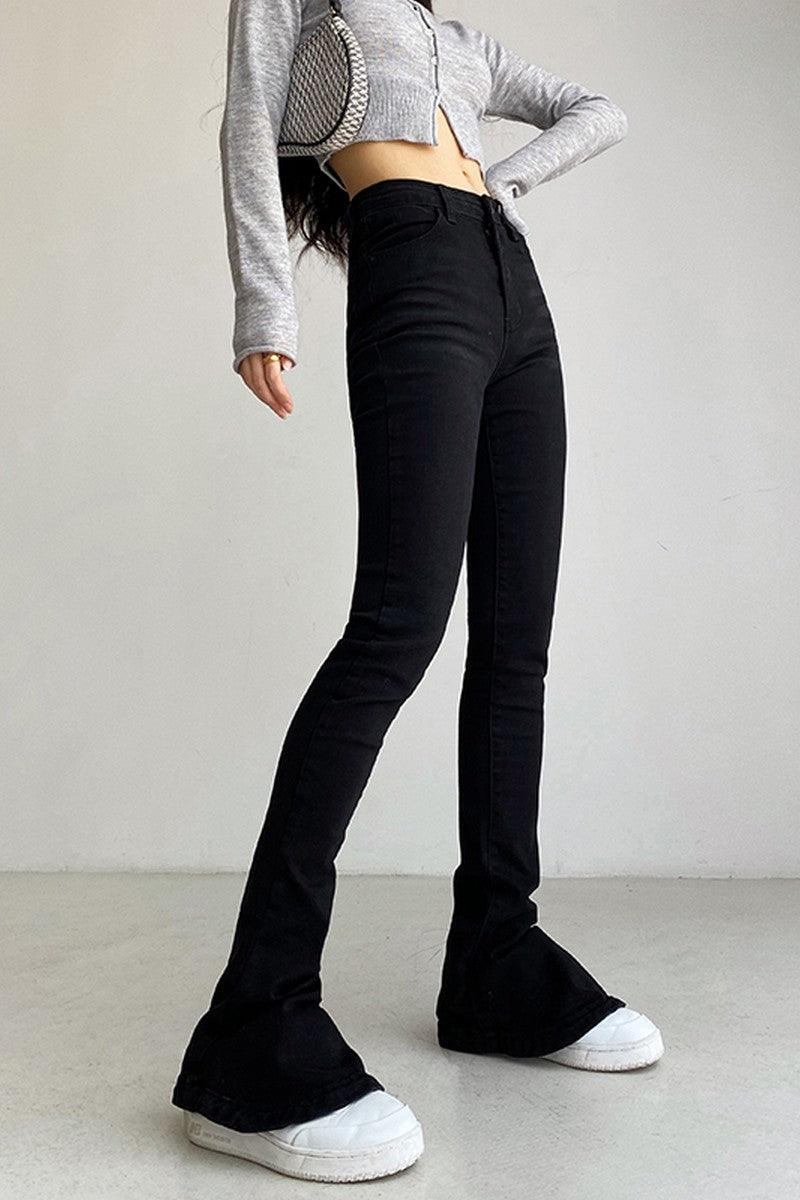 CZ Skinny Flared Denim
