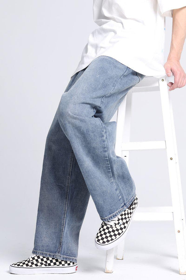CZ Washed Loose Denim