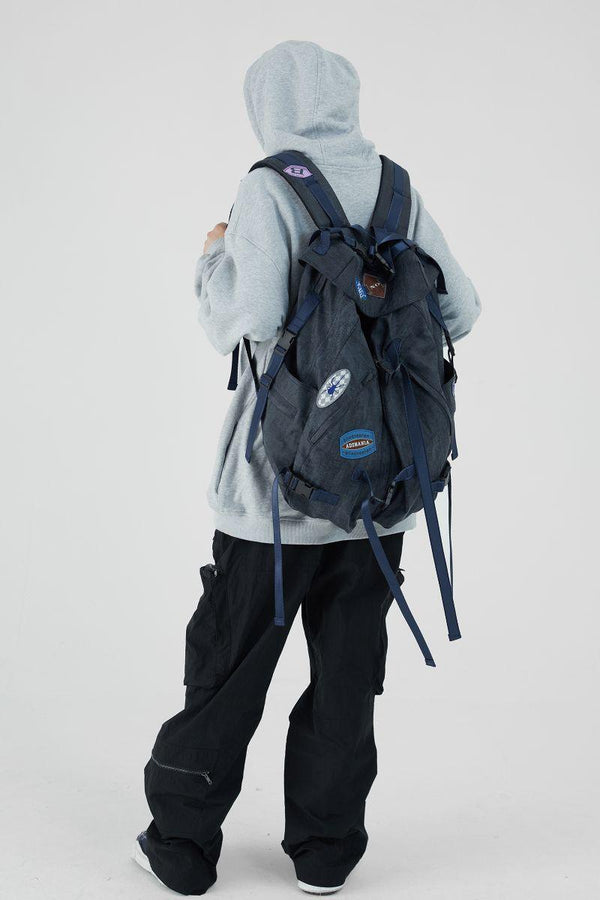 BLIND Logo Patches Backpack