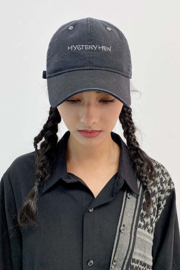 Unknown World Embroidered Washed Hat