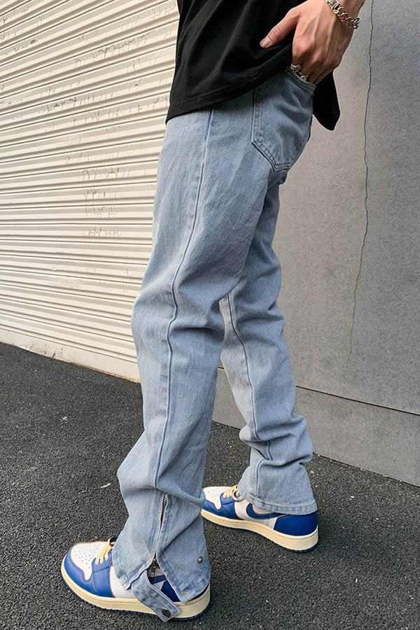 CZ Adjustable Straight Denim