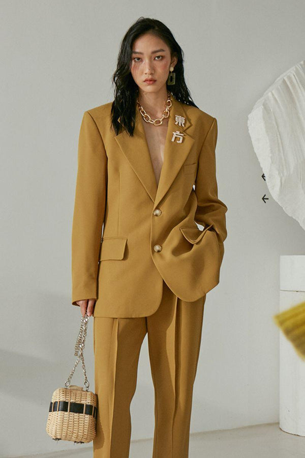 Mix7 Golden Suit Jacket