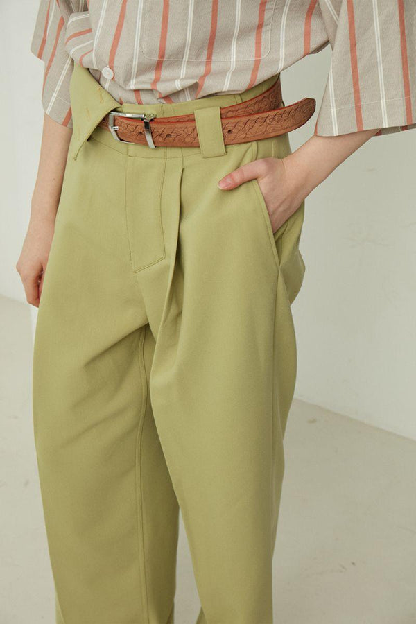 Mix7 Green Loose Trousers