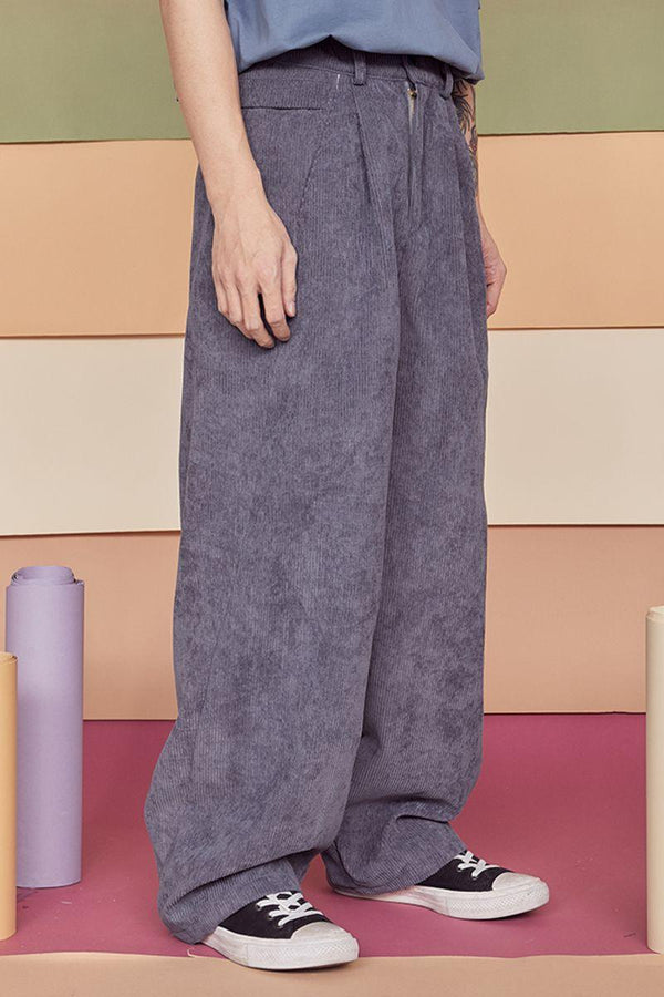 CZ Loose Draped Corduroy Trousers