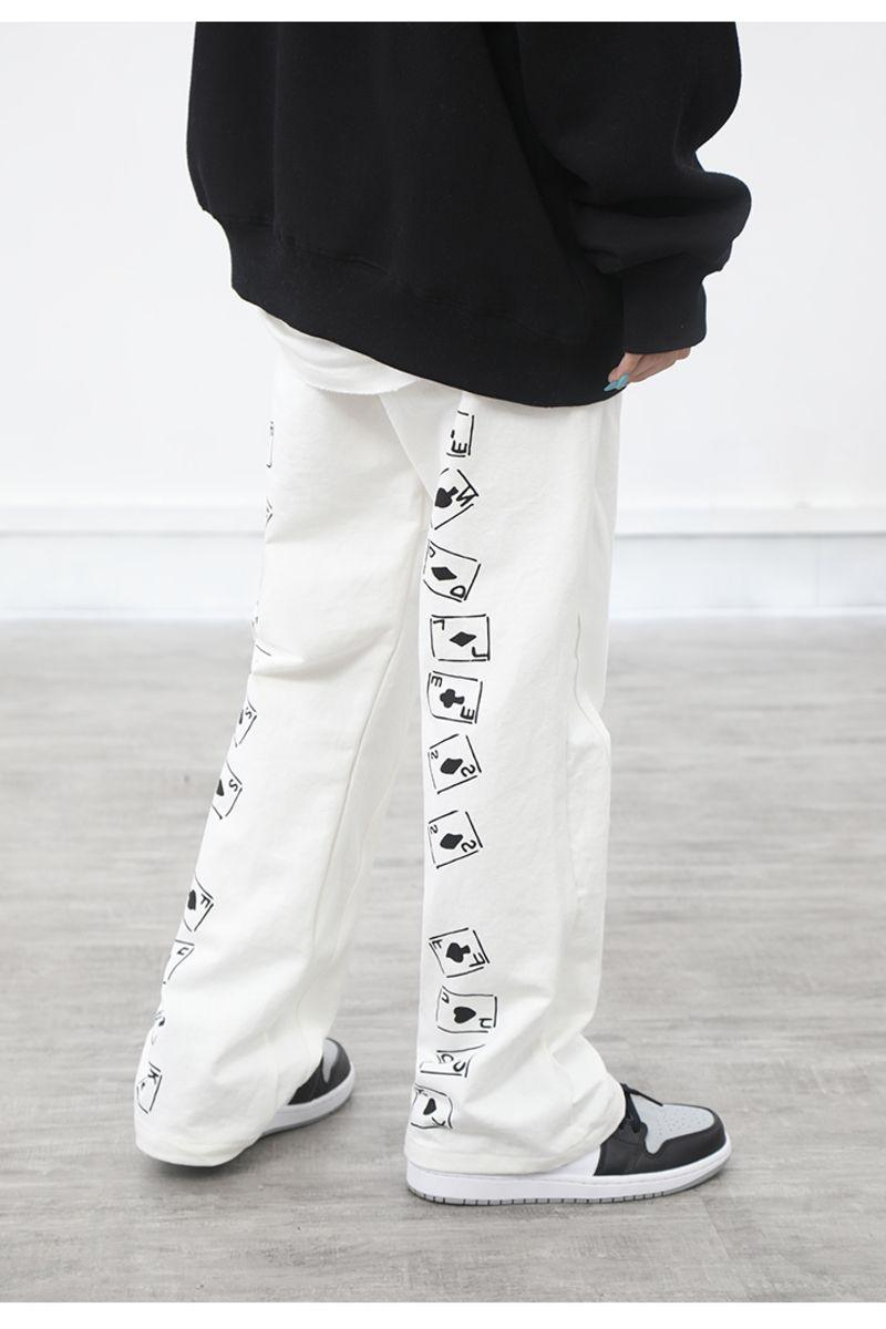 CZ Playing Cards Straight Trousers