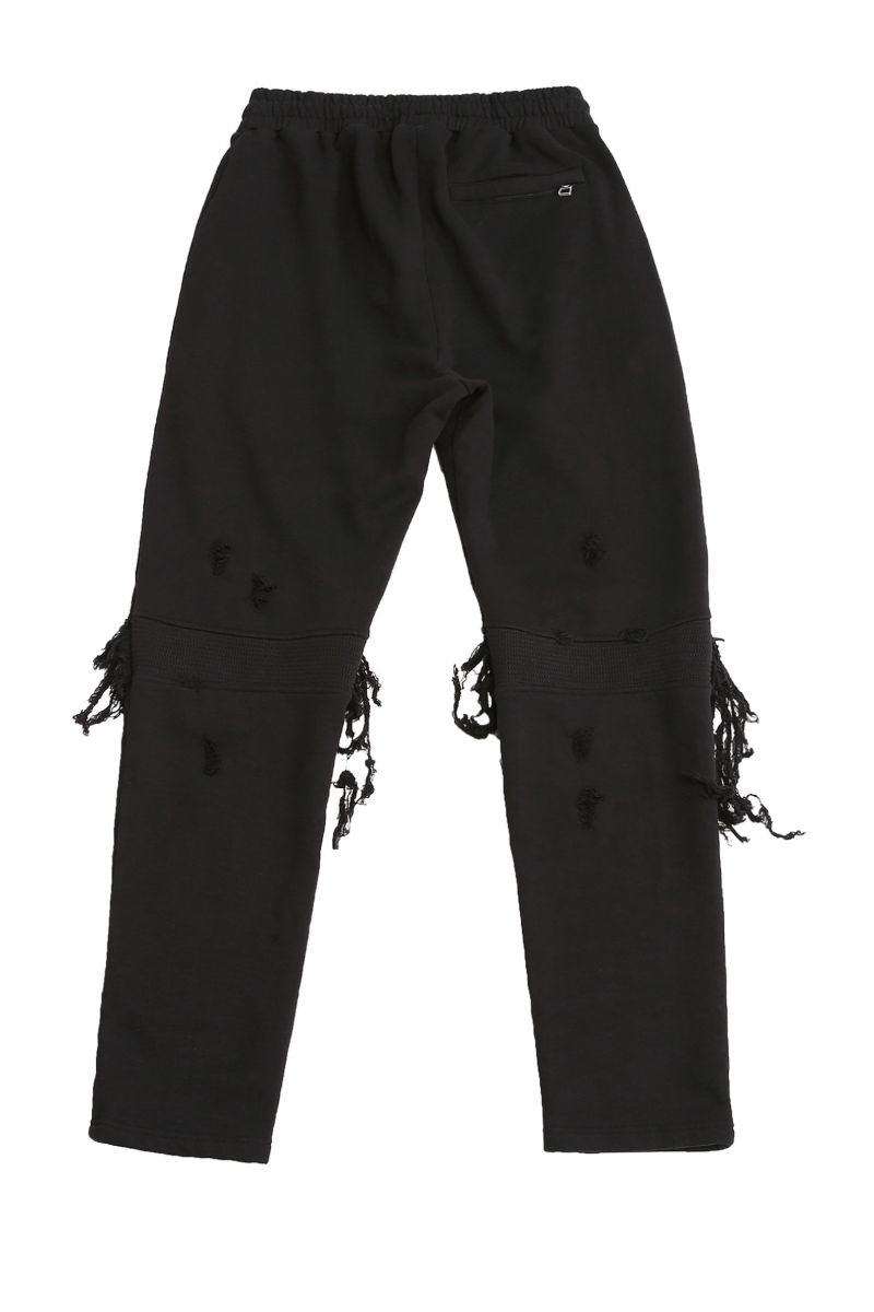 Unknown World Heavy Distressed Sweatpants