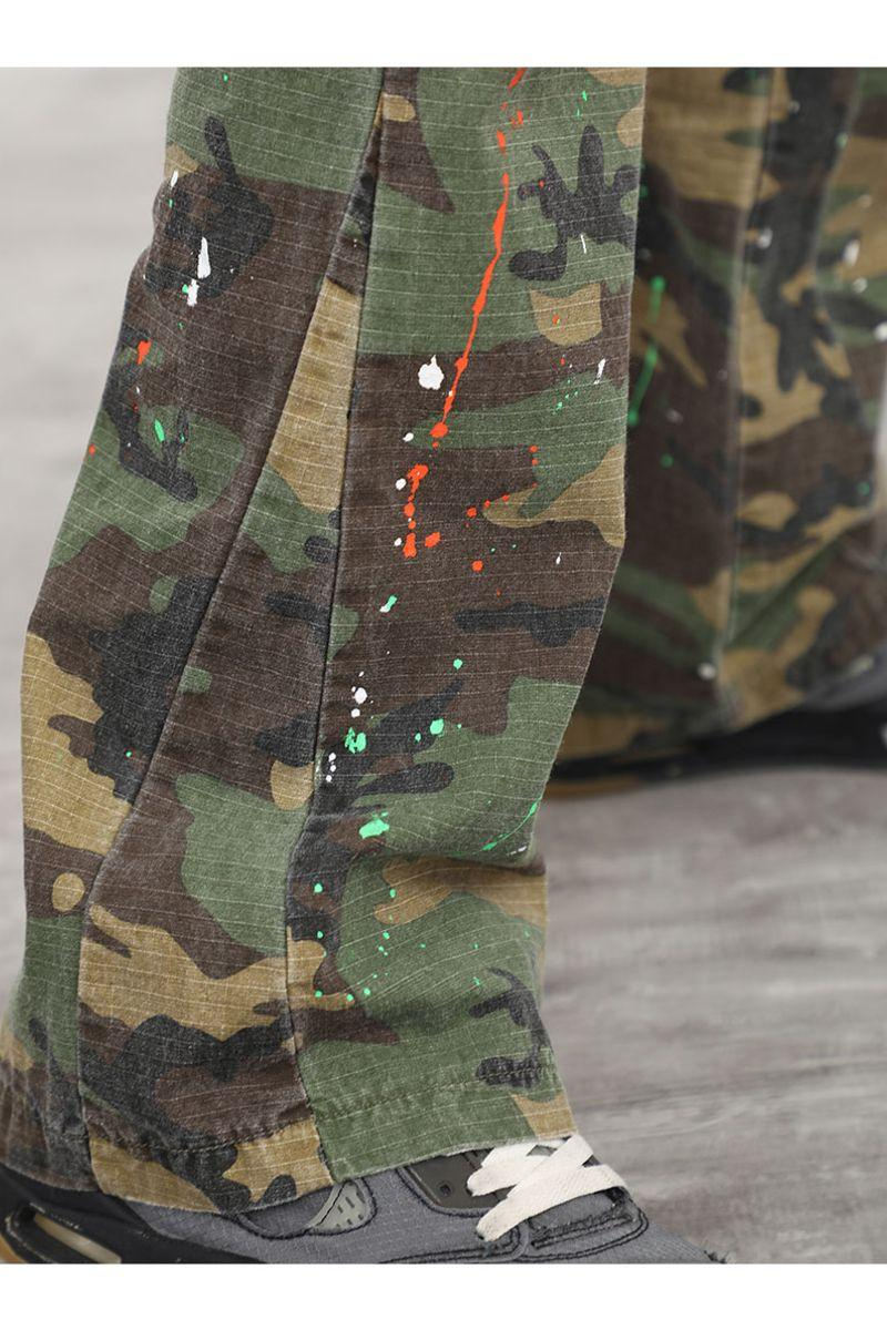 CZ Camo Ink Flared Trousers