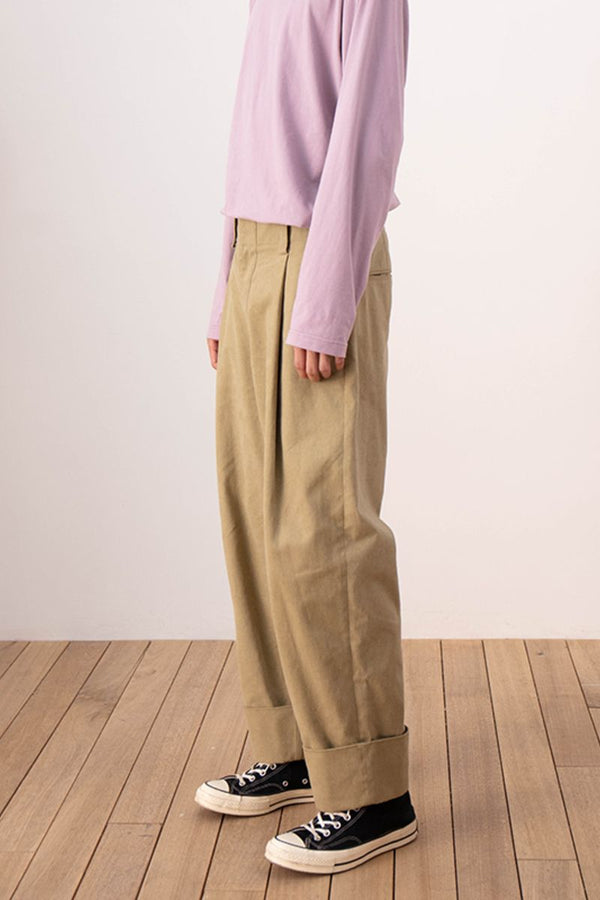 Mix7 High Waist Straight Trousers