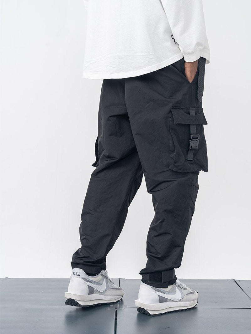 H/C Tactical Buckle Cargo Pants