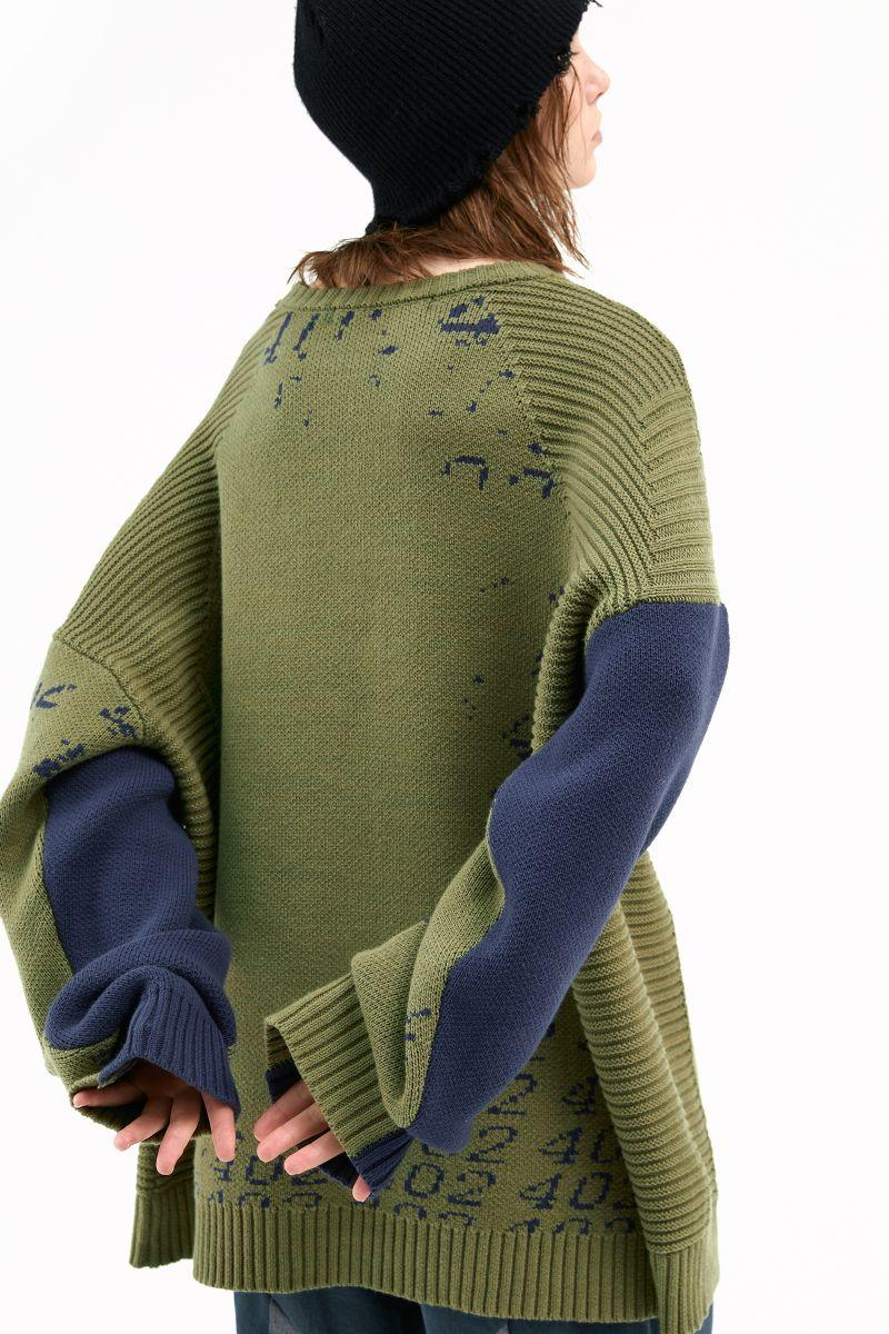 BLIND 402 Knit Sweater