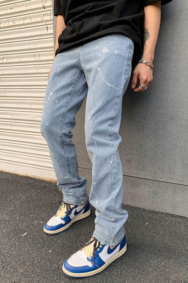 CZ Splash Ink Regular Denim