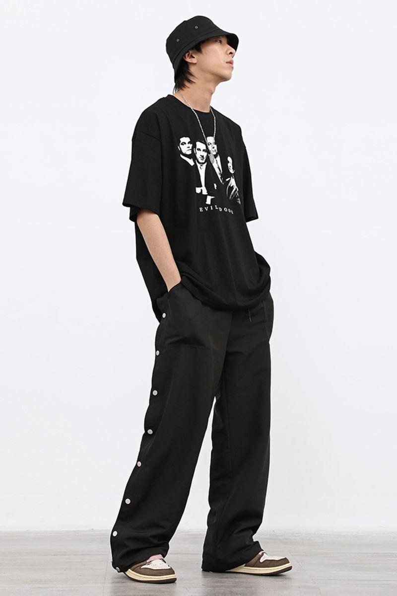 CZ Button Up Basic Pants