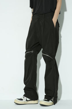 Unknown World Zipper Flared Trousers