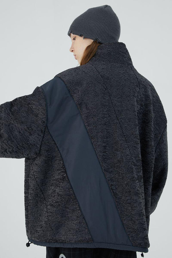 BLIND Stitched Sherpa Jacket