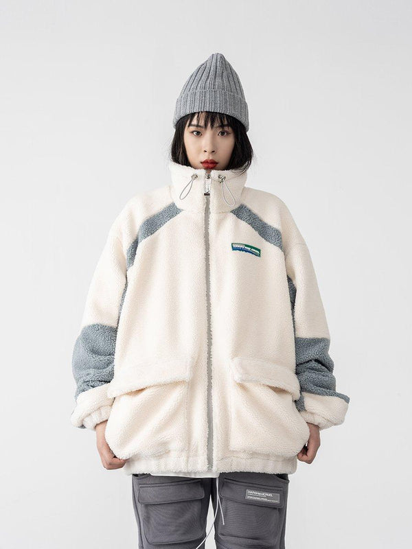 H/C High Collar Sherpa Jacket