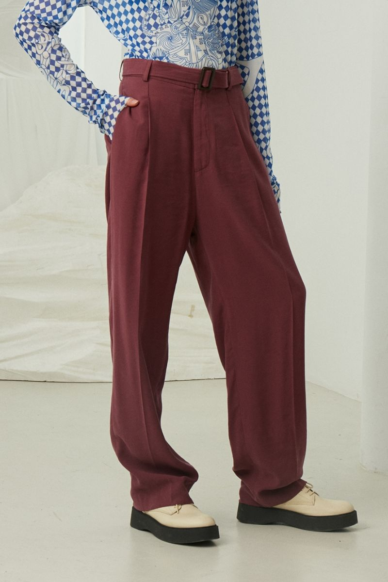 Mix7 Straight Suit Trousers