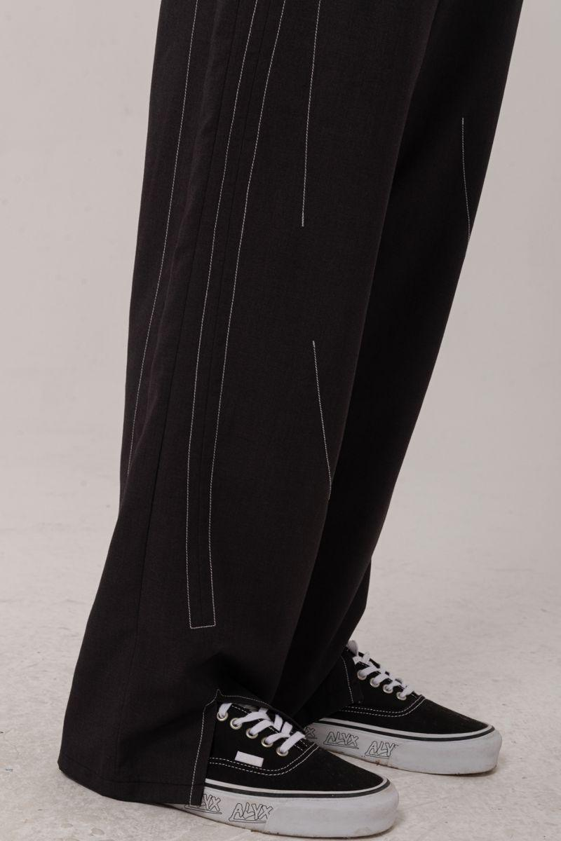 BLIND Irregular Split Open Trousers