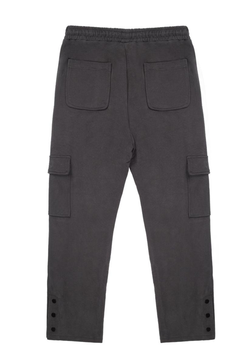 Antidote Heavy Straight Buttons Trousers