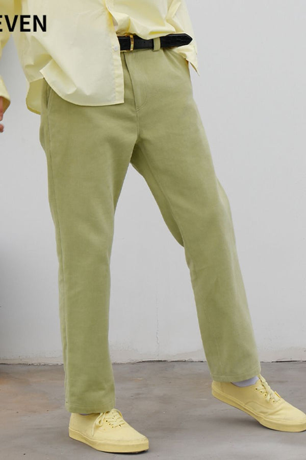 Mix7 Retro Straight Trousers