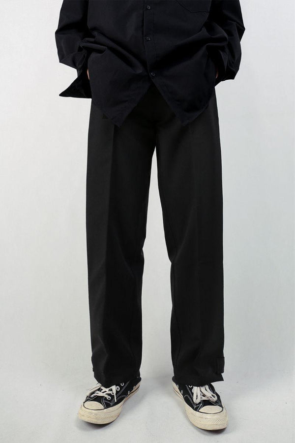 CZ Folded Straight Trousers