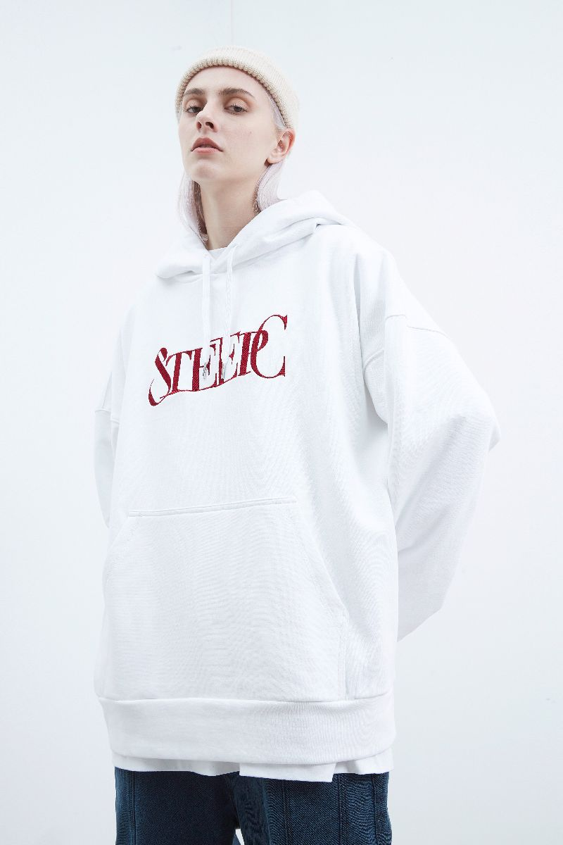 STEEPC Embroidered Logo Hoodie