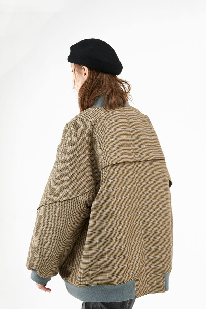 BLIND Retro Checkered Multi Pocket Jacket