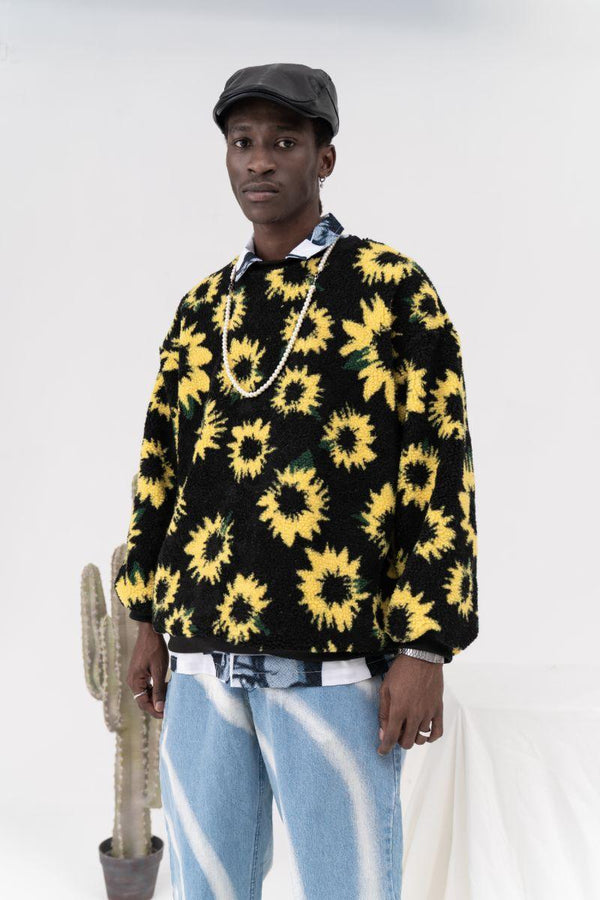 CZ Sunflower Sweater
