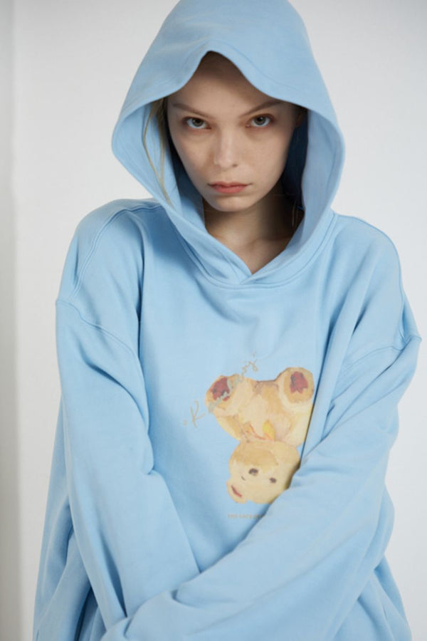 THINGY Bear Oil Painting Hoodie